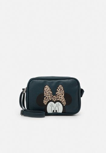 SHOULDER BAG MINNIE MOUSE MOST WANTED ICON - Across body bag - green