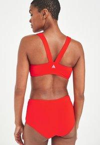 Next - PERFORMANCE  - Bikini top - red - 1