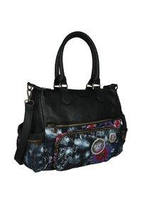 Desigual - BLACK PAPER - Handbag - black - 2
