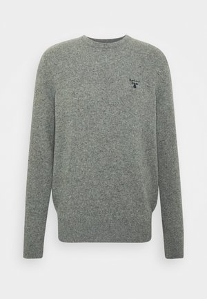 BEACON ROAN CREW - Jumper - mid grey
