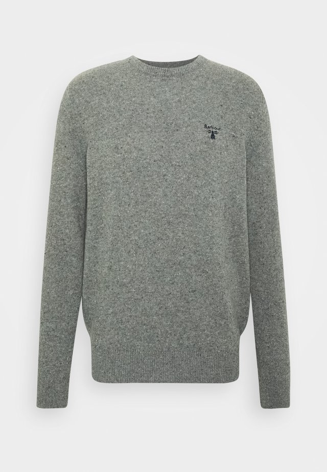 BEACON ROAN CREW - Pullover - mid grey