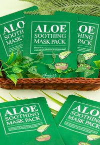 Benton - ALOE SOOTHING MASK 3 UNITS - Face mask - - - 3