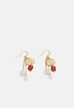 EARRINGS  - Náušnice - gold-coloured