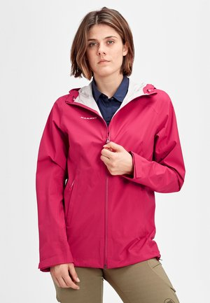 ALBULA  - Waterproof jacket - sundown