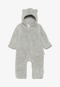 GAP - SHERPA BABY - Jumpsuit - light heather grey - 3