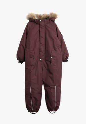 NICKIE TECH - Snowsuit - soft eggplant
