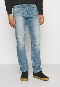 G-Star - ALTO HIGH STRAIGHT - Straight leg jeans - sun faded ice fog - 0