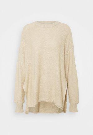 DECONSTRUCTED CREW - Jumper dress - soft muslin