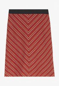 TOM TAILOR - SKIRT  - Pencil skirt - red - 1