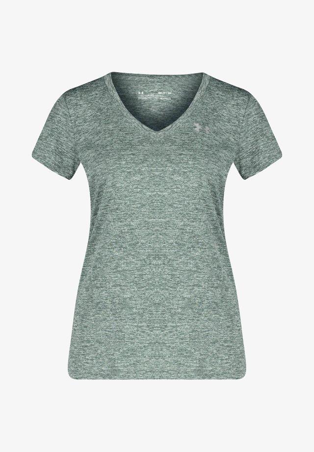 TECH TWIST - T-shirt imprimé - grau