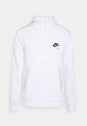 HOODIE - Collegetakki - white/photon dust/black