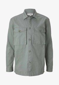 TOM TAILOR DENIM - BASIC  - Koszula - greyish shadow olive - 4