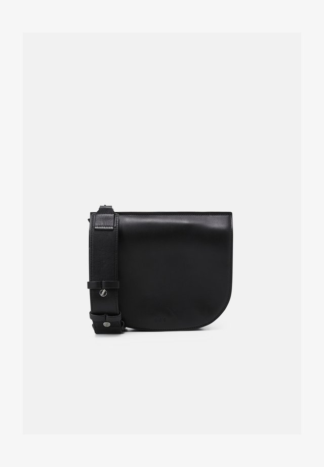 ELITE CURVE EVENING BAG - Taška spříčným popruhem - black