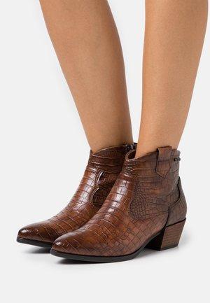 Ankle boots - mokka