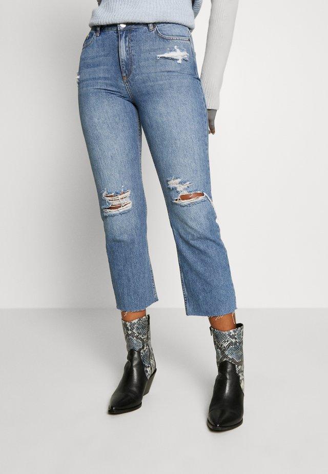 WEB STRAIGHT LEG - Straight leg jeans - mid blue