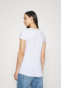 Pepe Jeans - BEA 2 PACK - Basic T-shirt - black/white - 2