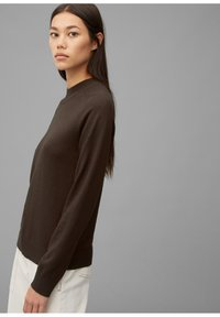 Marc O'Polo - Jumper - dark chocolate - 3