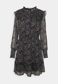 ONLY - ONLASTA SMOCK DRESS - Kjole - black - 0