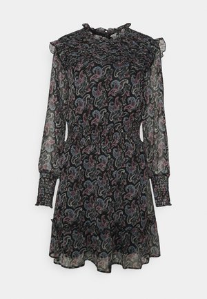 ONLASTA SMOCK DRESS - Day dress - black