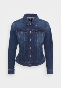 G-Star - 3301 SLIM - Jeansjakke - faded stone - 4