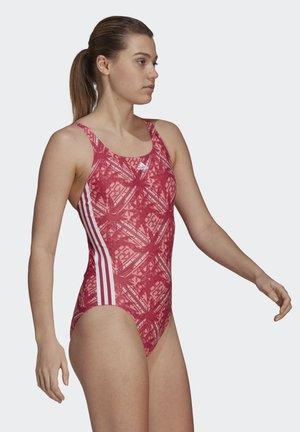 SH3.RO FESTIVIBES 3-STRIPES SWIMSUIT - Swimsuit - pink