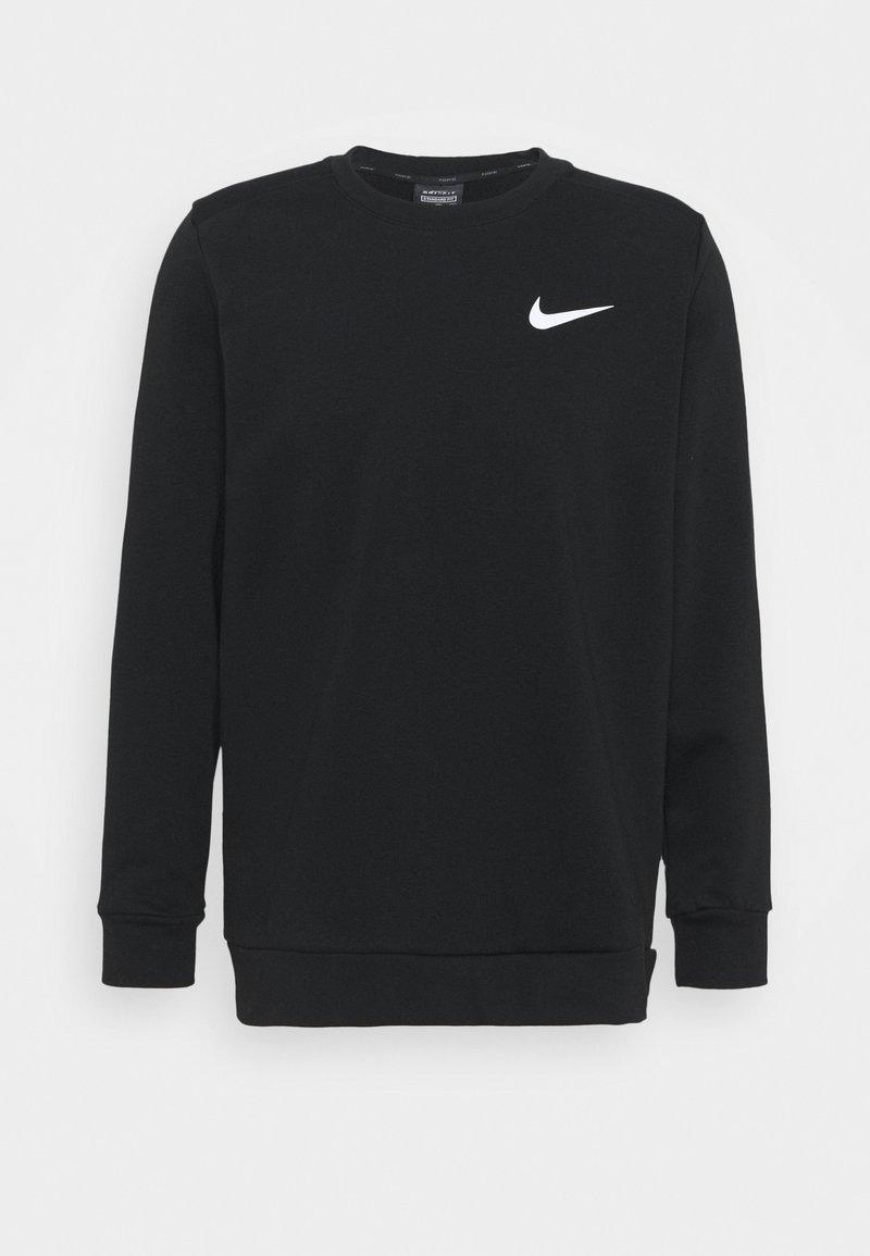 Nike Performance - CREW - Felpa - black/white