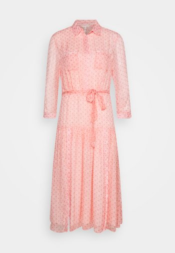 DRESS CANTALOUPE PRINT  - Shirt dress - multi-coloured