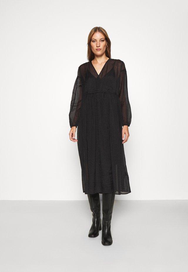 JOLIE DRESS - Vapaa-ajan mekko - black