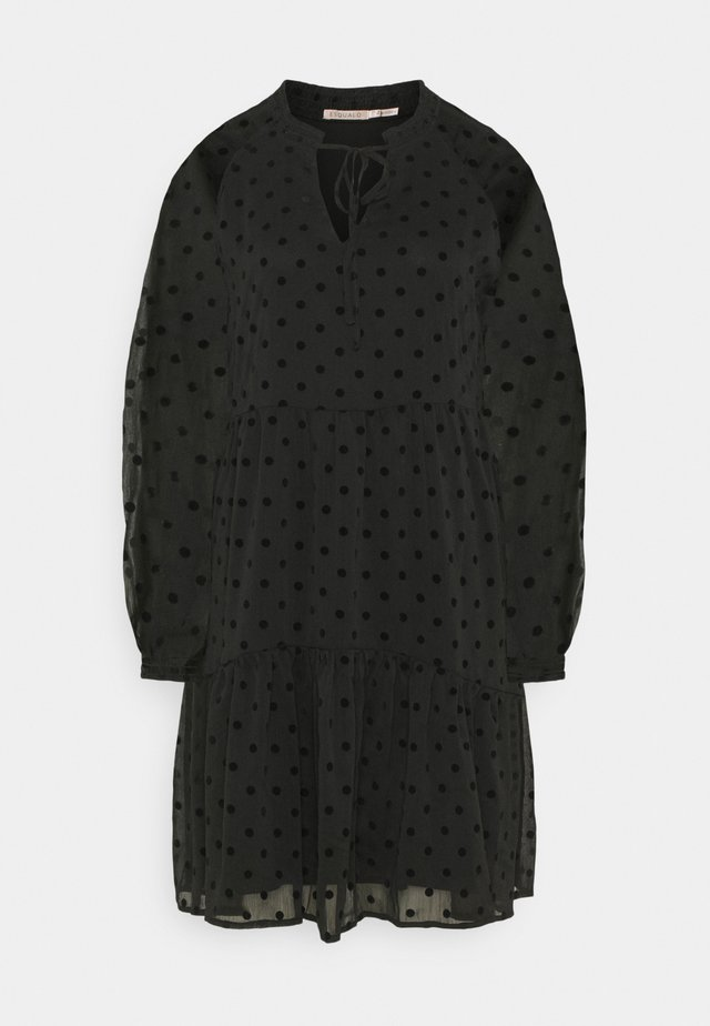 DRESS DOTS - Vardagsklänning - black