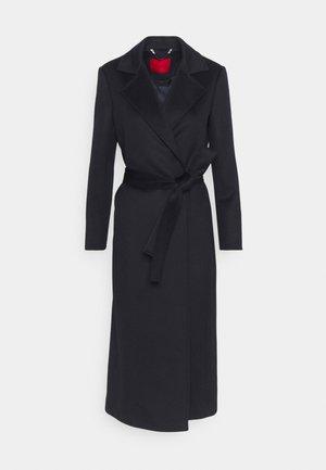 LONGRUN - Klasyczny płaszcz - midnight blue