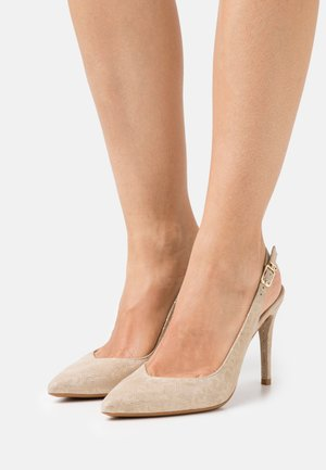 VICKIE SLING BACK  - Classic heels - camel