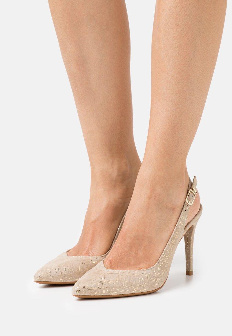 Liu Jo Jeans - VICKIE SLING BACK  - Classic heels - camel