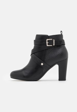 AMETHYST - Boots à talons - black