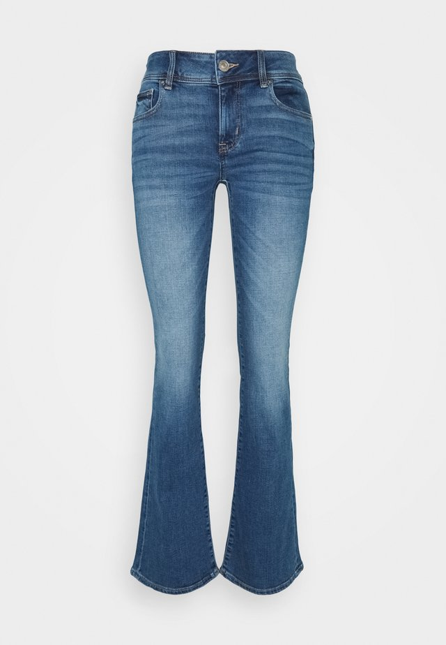 KICK BOOT  - Flared Jeans - super indigo
