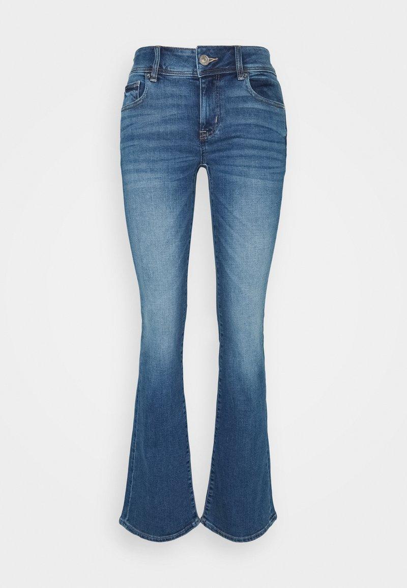 American Eagle - KICK BOOT  - Flared Jeans - super indigo
