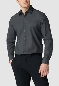 OLYMP Level Five - SLIM FIT BUSINESS MIT STRETCH-ANTEIL - Formal shirt - anthrazit - 0