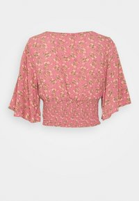 American Eagle - FLUTTER - Blouse - berry - 1
