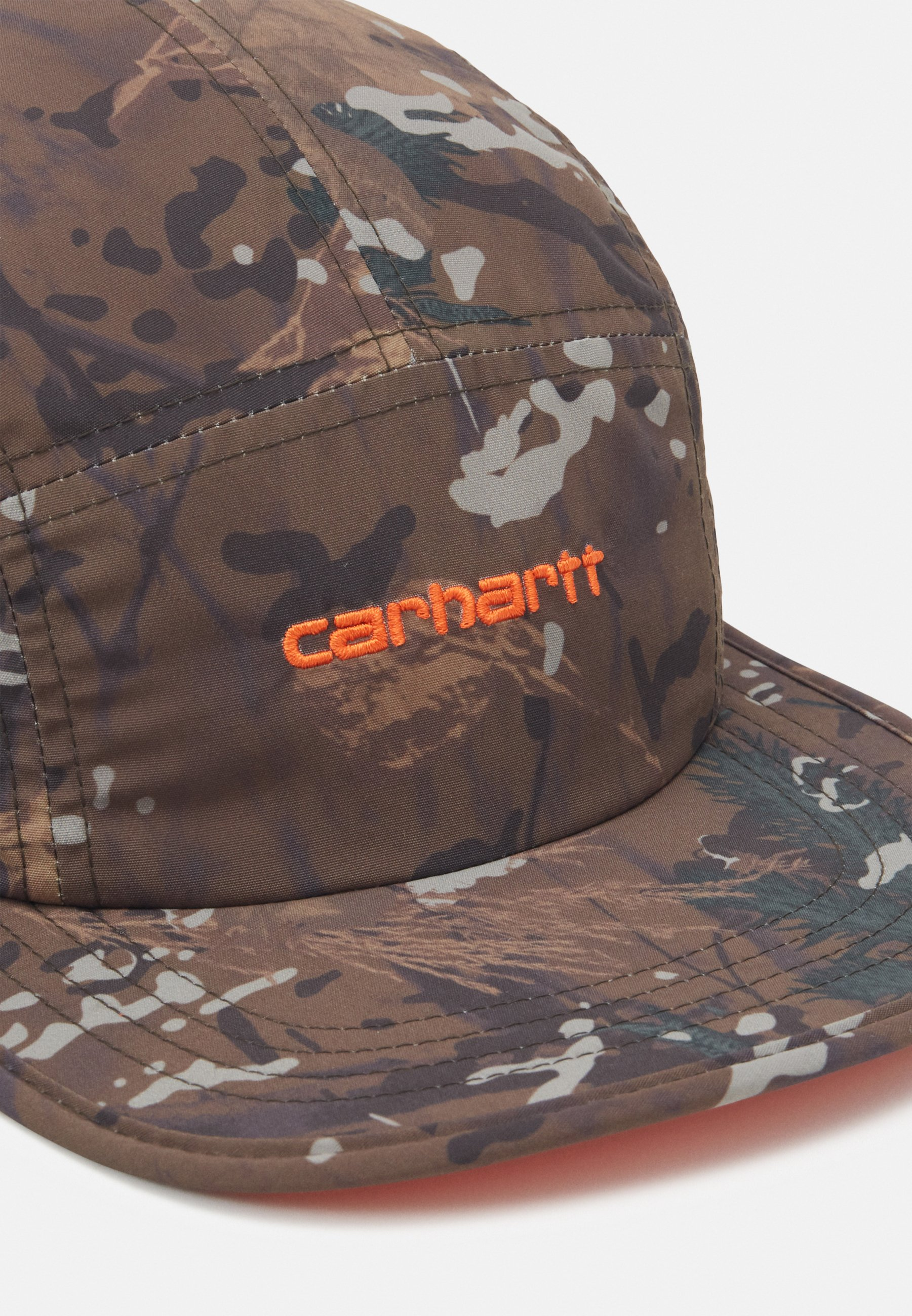 Carhartt Wip Denby - Cap Khaki/safety Orange/orange