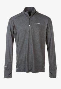 Endurance - TUNE MELANGE MIDLAYER - Sports shirt - grey - 0