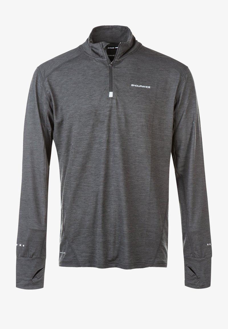 Endurance - TUNE MELANGE MIDLAYER - Sports shirt - grey