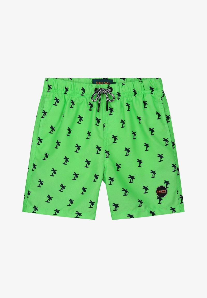 Shiwi - PALM - Swimming shorts - new neon green