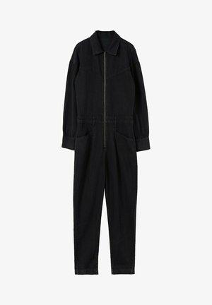 Jumpsuit - black denim