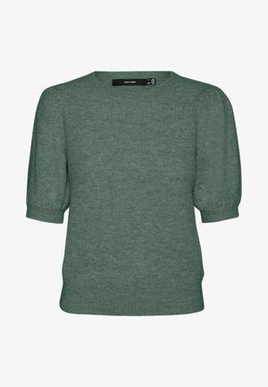 Print T-shirt - laurel wreath