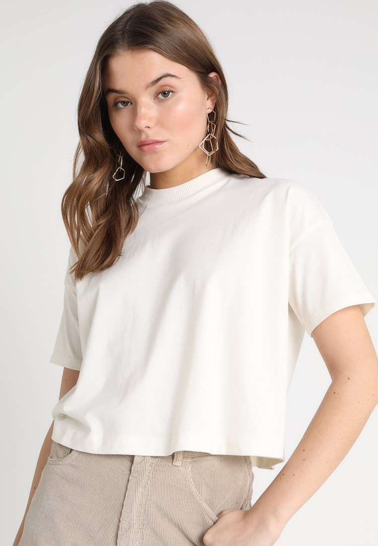 Weekday - CARRIE TEE - T-shirt basique - off white