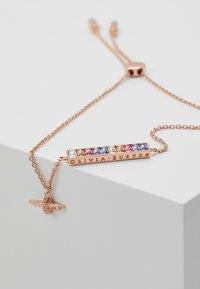 Olivia Burton - RAINBOW BEE - Bracelet - rosegold-coloured - 5