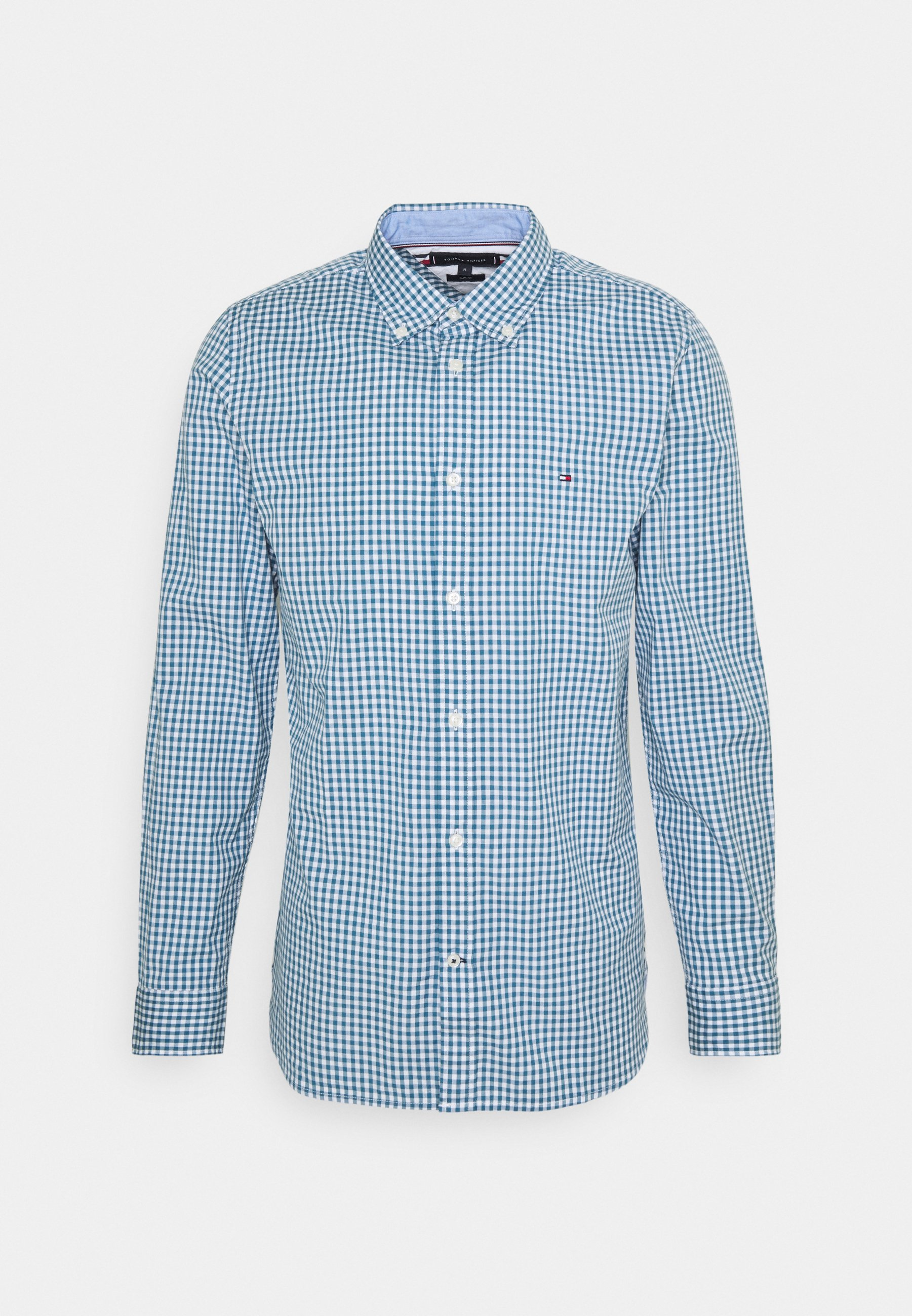 Men SLIM NATURAL SOFT GINGHAM SHIRT - Shirt