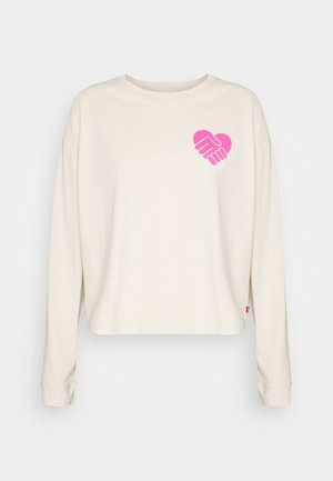 GRAPHIC LONG SLEEVE  - Top s dlouhým rukávem - neutrals