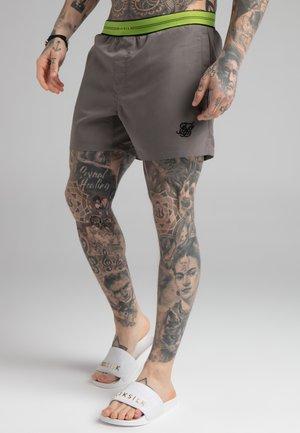 STATUS TAPE SWIM - Swimming shorts - grey/fluro
