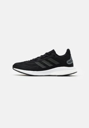 SUPERNOVA SPORTS RUNNING SHOES UNISEX - Neutral running shoes - core black/grey six/silver metallic