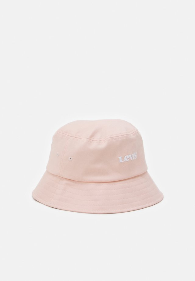 WOMEN BUCKET HAT VINTAGE MODERN LOGO - Hat - light pink